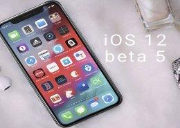 پنجمین ورژن بتا از IOS 12