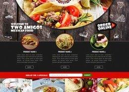 طراحی سایت رستوران-کافی شاپ-سفره خانه - دیمن ارتباط