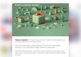 هدیه کریسمس اپل به همه کاربران
