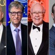 مجموع ثروت ۱۰ فرد ثروتمند دنیا