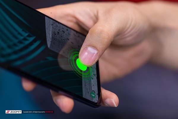 نمایشگر و اسپیکر گوشی موبایل سامسونگ گلکسی A51 samsung galaxy A51