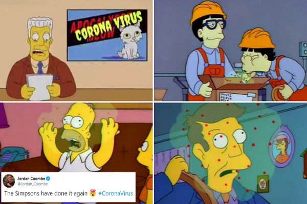 پیش بینی کرونا در سریال سیمپسون ها حقیقت دارد ؟